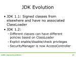 jdk evolution