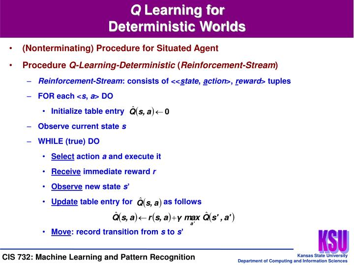 (Nonterminating) Procedure for Situated Agent