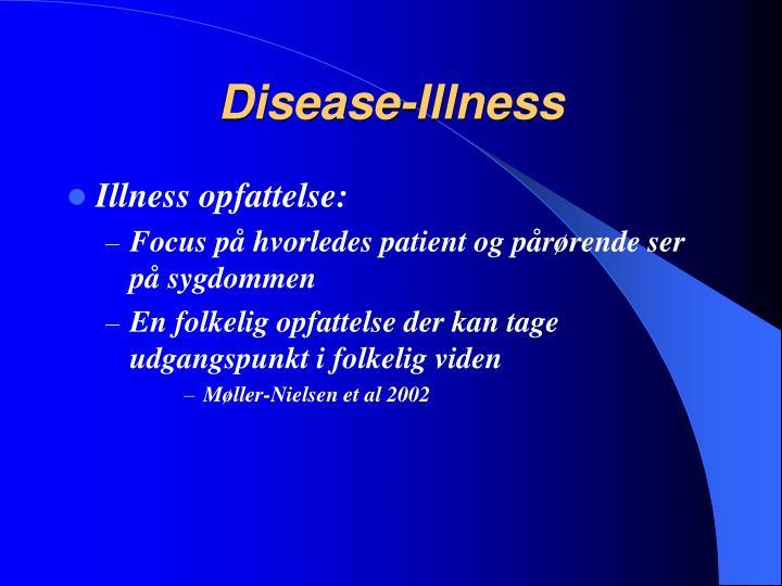 Disease-Illness