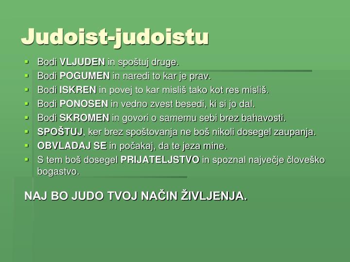 Judoist-judoistu