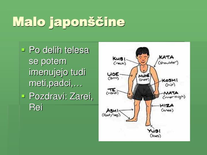 Malo japonščine