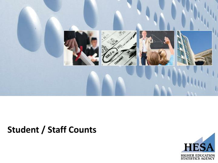Student / Staff Counts