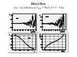 direct flow au au collisions at s nn 7gev b 5 9 fm