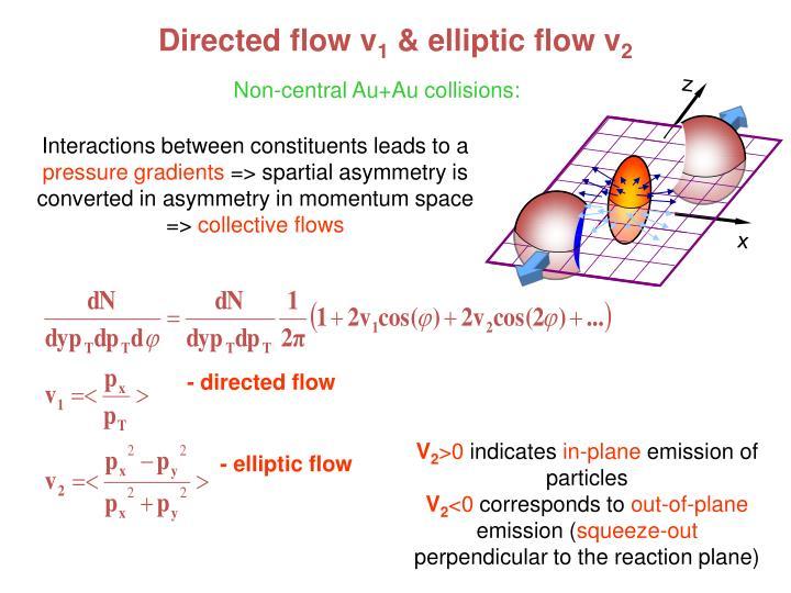 Directed flow v