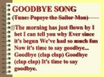 goodbye song tune popeye the sailor man