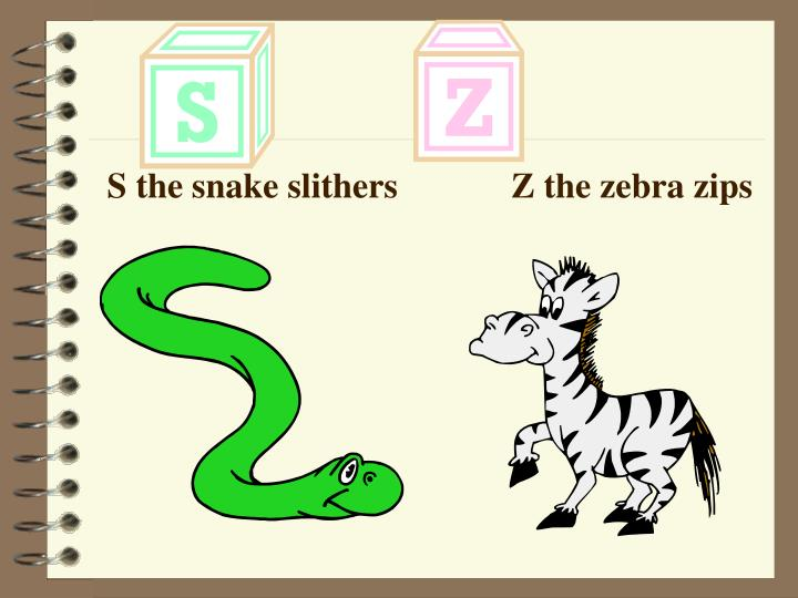 S the snake slithers