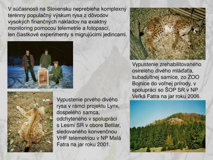V súčasnosti na Slovensku neprebieha