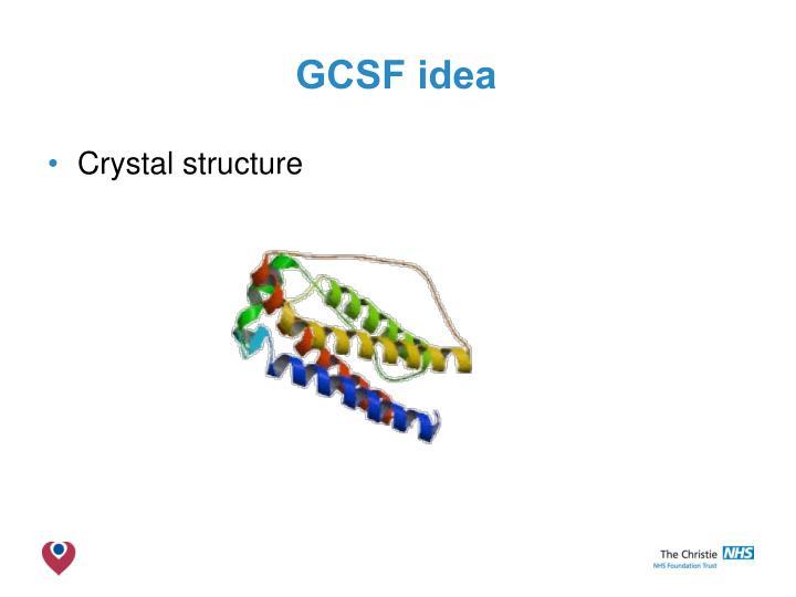 GCSF idea