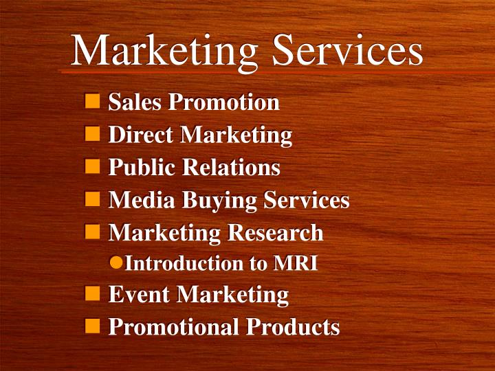 Marketing services2