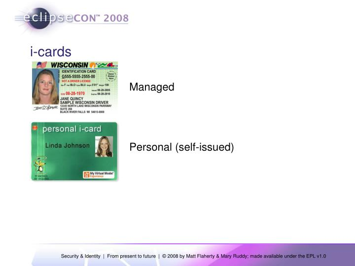 i-cards