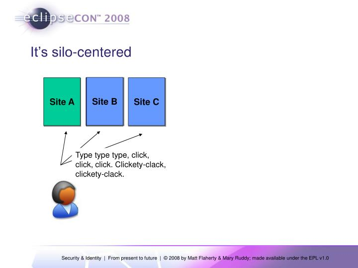 It's silo-centered