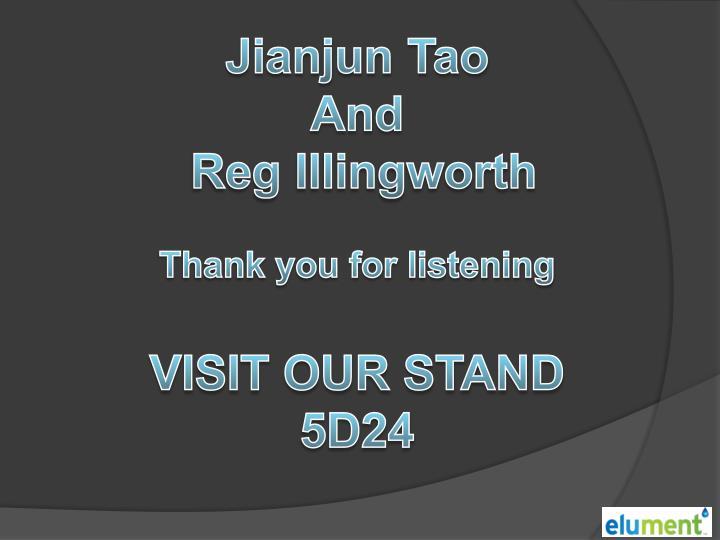 Jianjun Tao