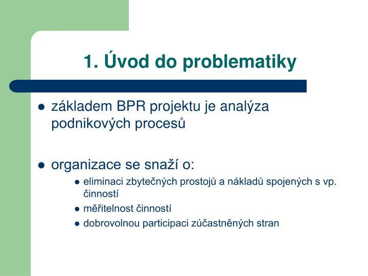 1. Úvod do problematiky