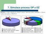 7 simulace procesu op a oz2
