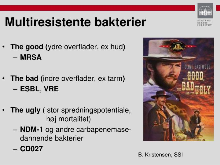 B. Kristensen, SSI