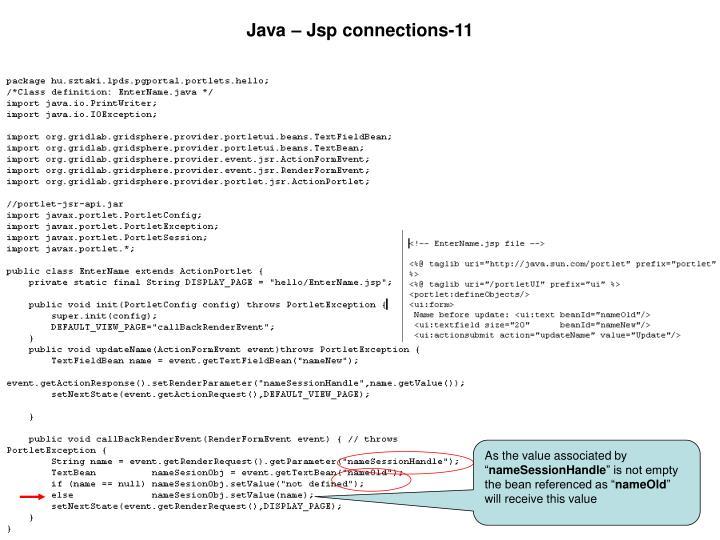 Java – Jsp connections-11