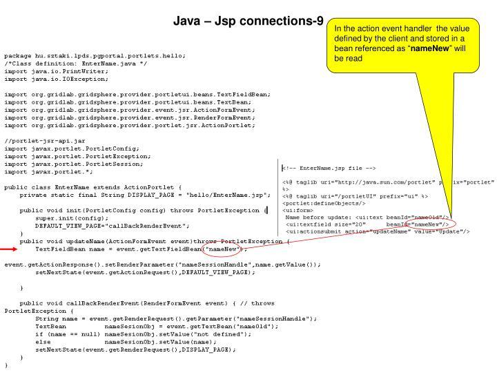 Java – Jsp connections-9