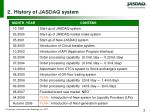 history of system
