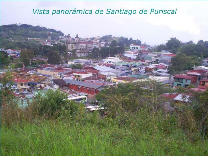 Vista panorámica de Santiago de Puriscal