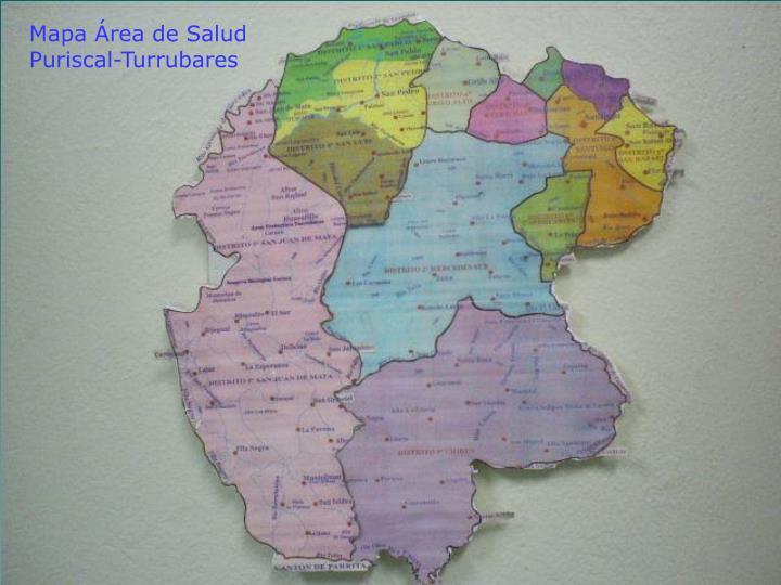 Mapa Área de Salud Puriscal-Turrubares
