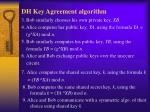 dh key agreement algorithm