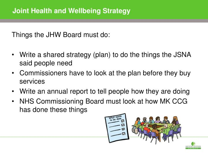 Joint Health and Wellbeing Strategy