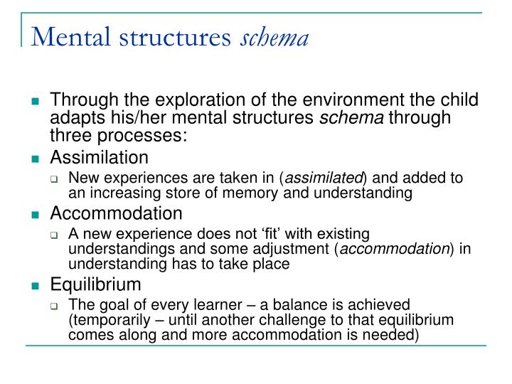 Mental structures