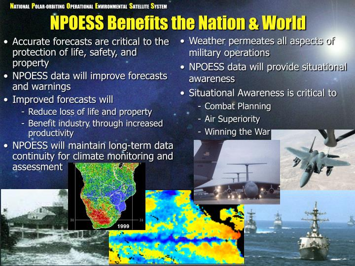 Weather permeates all aspects of military operations