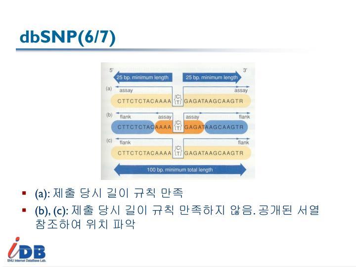 dbSNP(6/7)