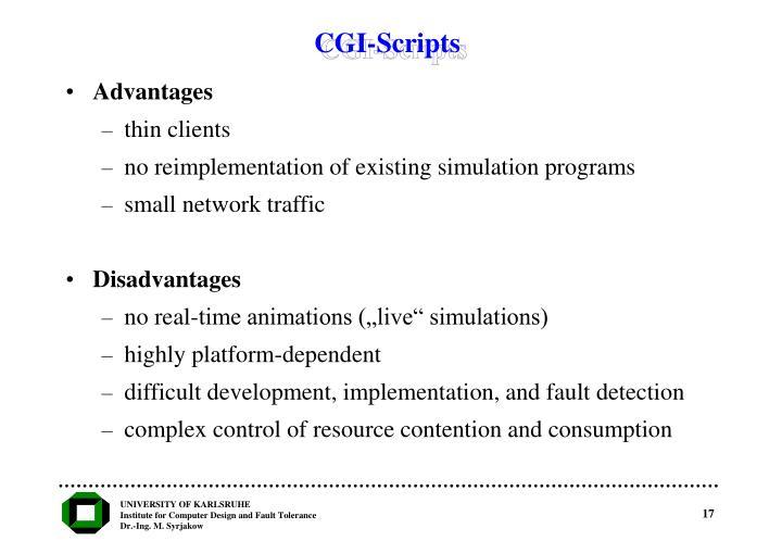 CGI-Scripts