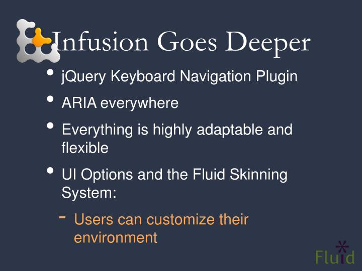 Infusion Goes Deeper