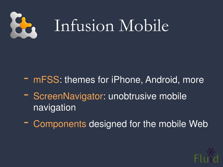 Infusion Mobile