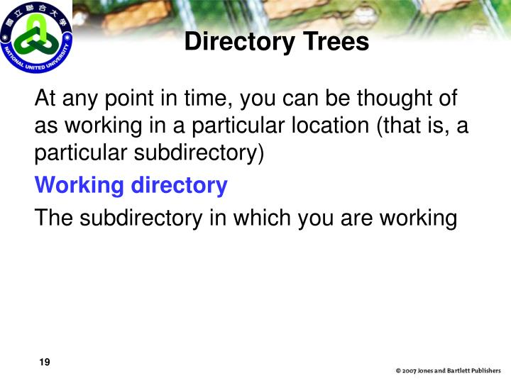 Directory Trees