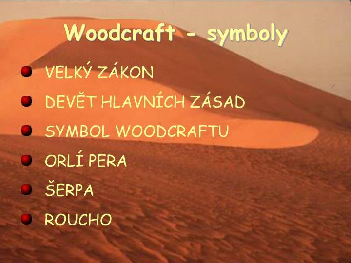 Woodcraft - symboly