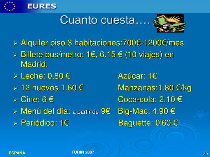 Ppt destinazione spagna powerpoint presentation id 5107421 - Cuanto cuesta pintar un piso de 60 metros ...