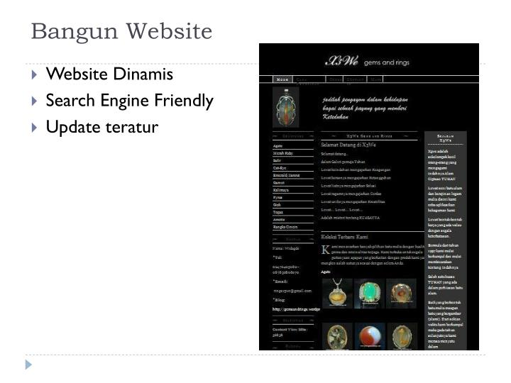 Bangun Website