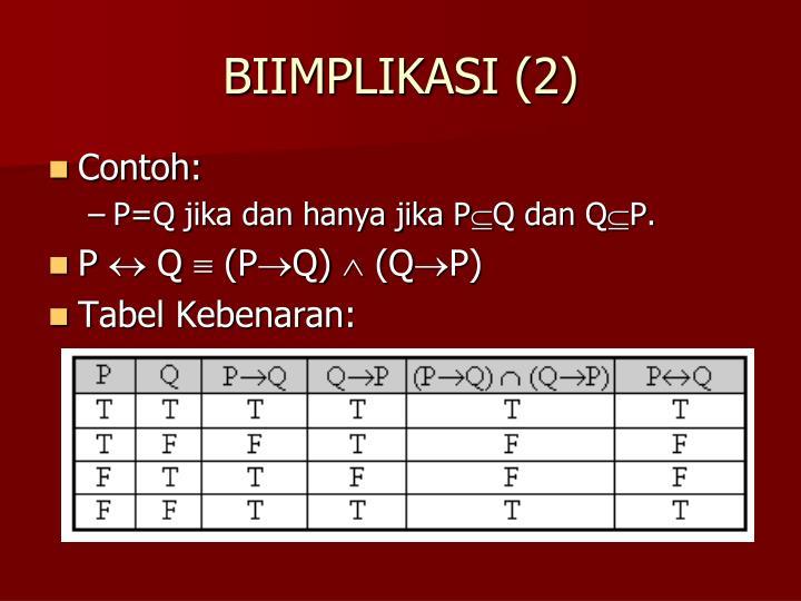 BIIMPLIKASI (2)