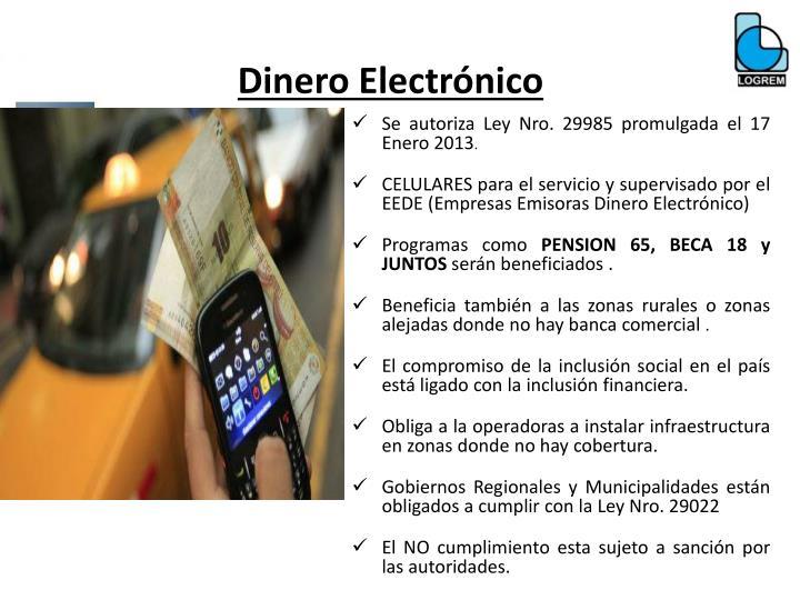 Dinero Electrónico