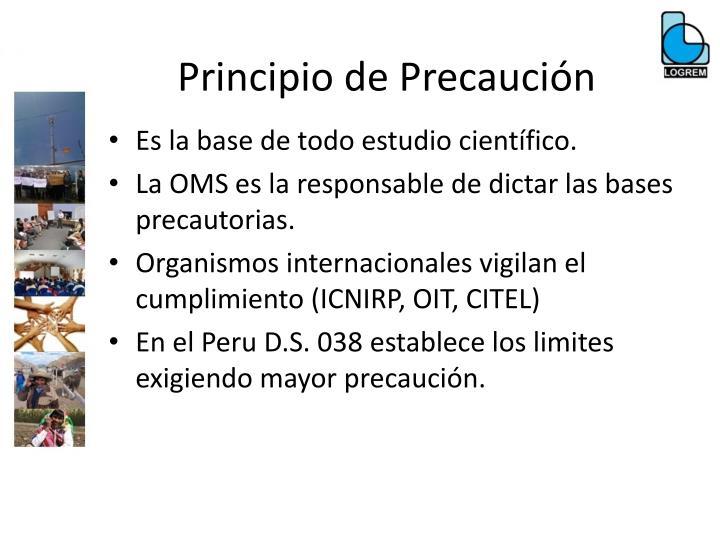 Principio de Precaución
