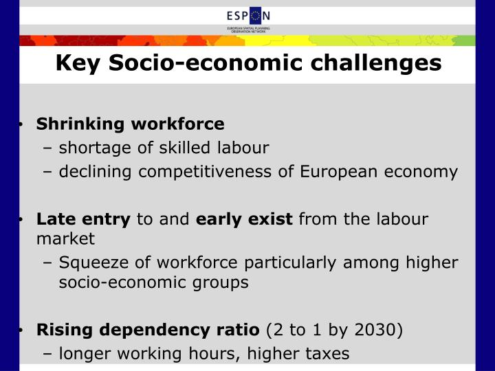 Key Socio-economic challenges