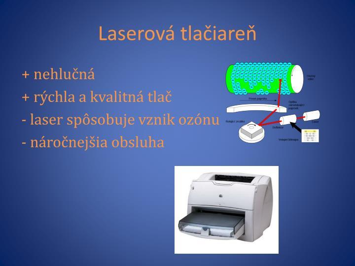 Laserová