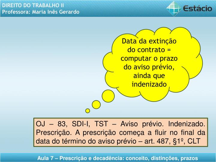 Data da extinção do
