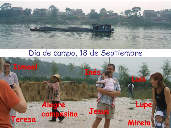Dia de campo, 18 de Septiembre