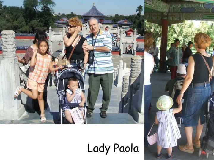 Lady Paola