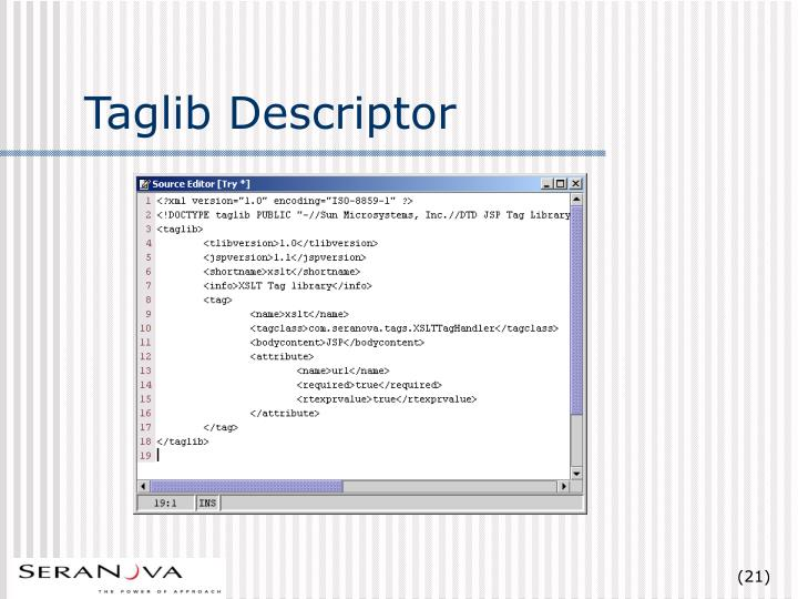 Taglib Descriptor