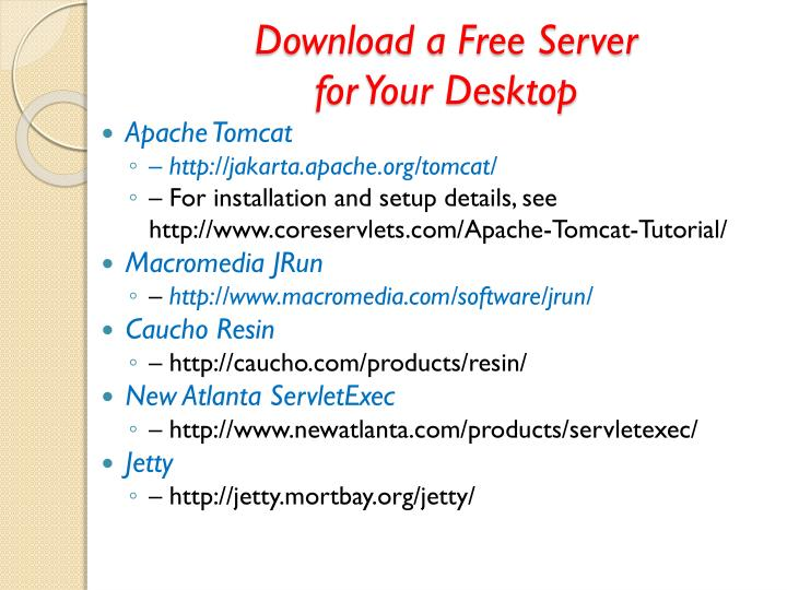 Download a Free Server