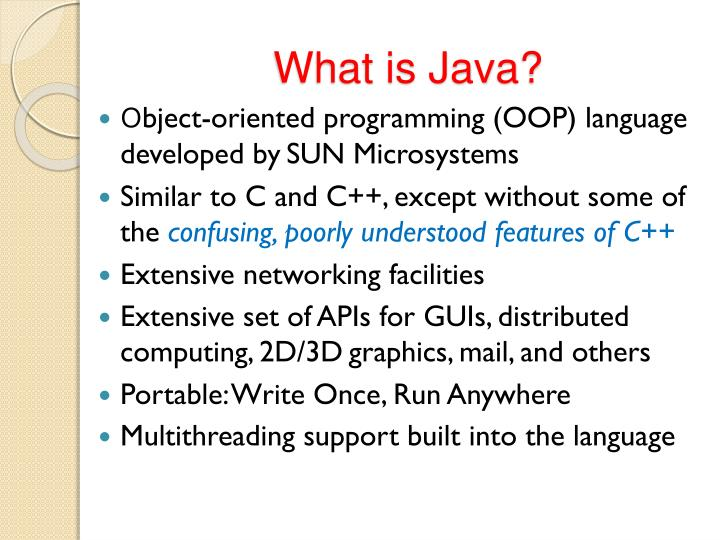 What is java1