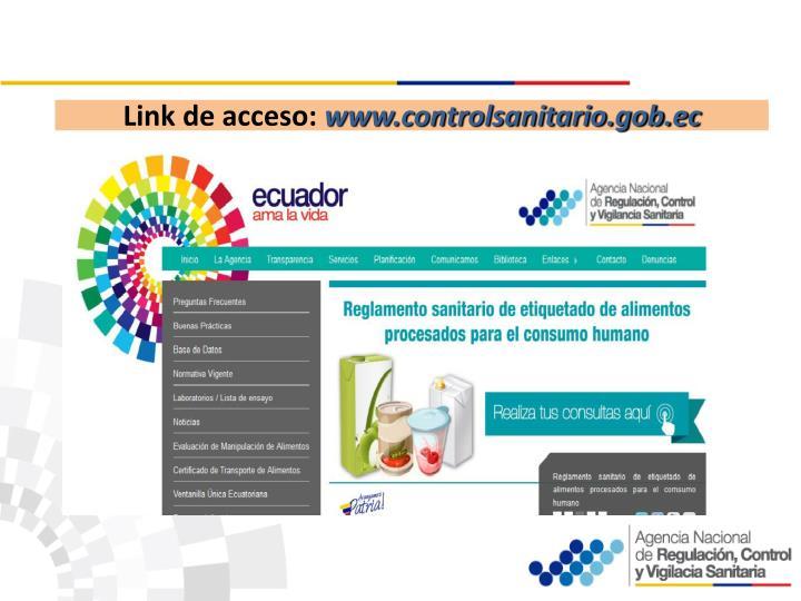 Link de acceso: