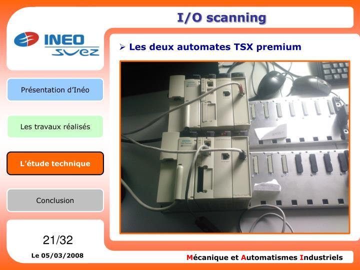 I/O scanning
