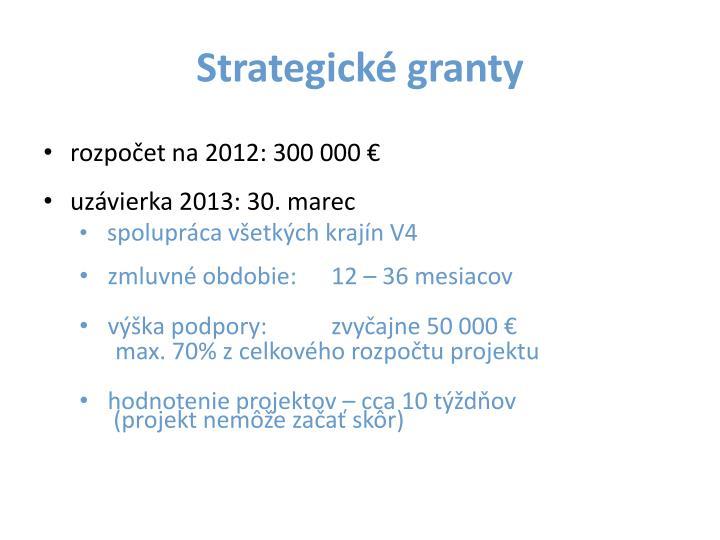 Strategické